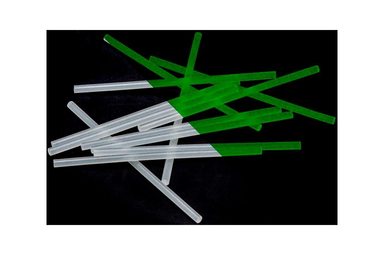 Клеевые стержни Intertool - 7,4 x 200 мм флуоресцентные (12 шт.) 2