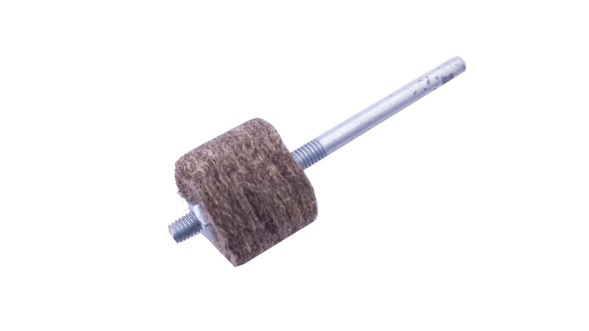 Круг войлочный на дрель Pilim - 30 x 25 мм мягкий 3