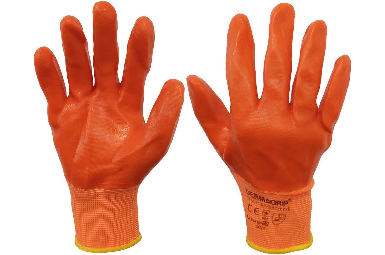 Перчатки PRC - 10 силиконовые оранжевые 100 г 1