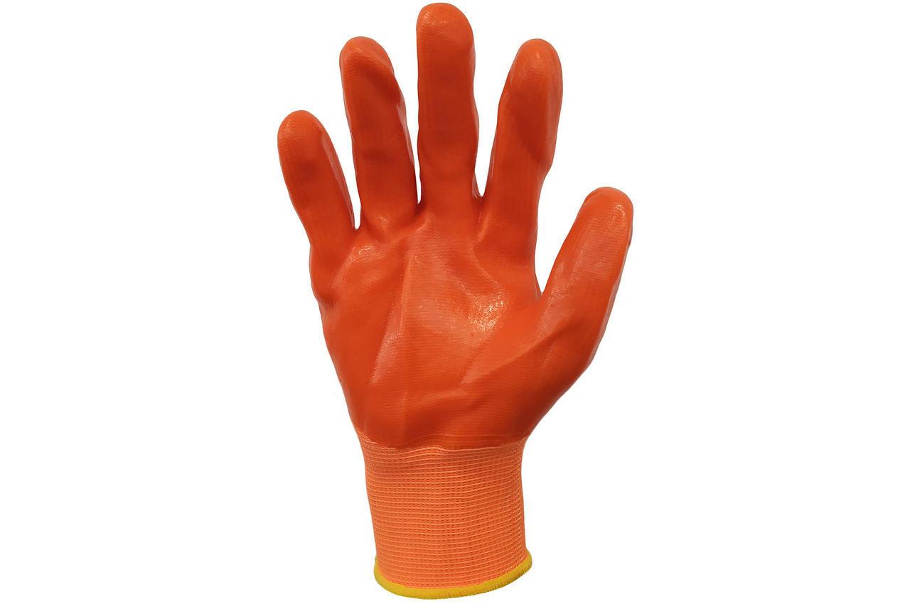 Перчатки PRC - 10 силиконовые оранжевые 100 г 2