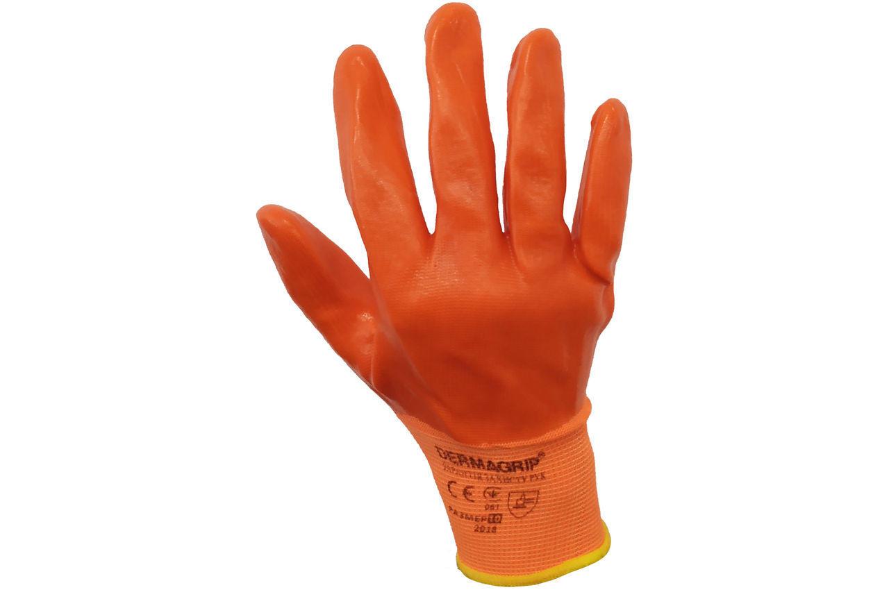 Перчатки PRC - 10 силиконовые оранжевые 100 г 3