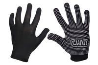 Перчатки Сила - нейлон с точкой черные 9