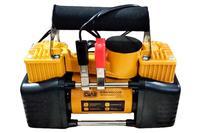 Миникомпрессор автомобильный Сила - 12В x 10bar x 85 л/мин, двухпоршневой