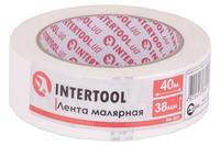 Лента малярная Intertool - 38 мм x 40 м белая