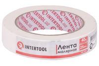 Лента малярная Intertool - 25 мм x 40 м белая