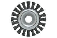 Щетка дисковая Housetools - 75 мм, плетеная стержень