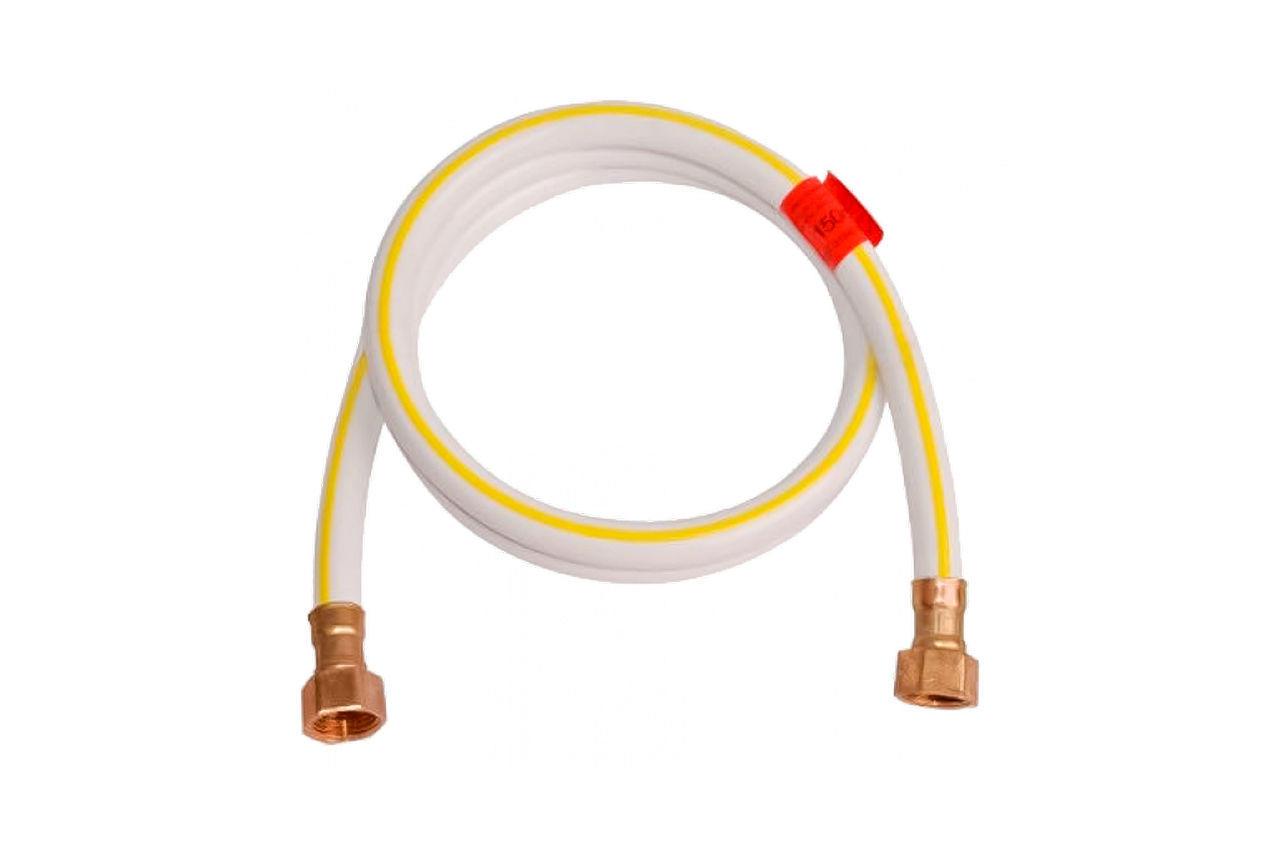 Шланг газовый Никифоров - 1000 мм x 1/2В/В ПВХ белый (лат) 1