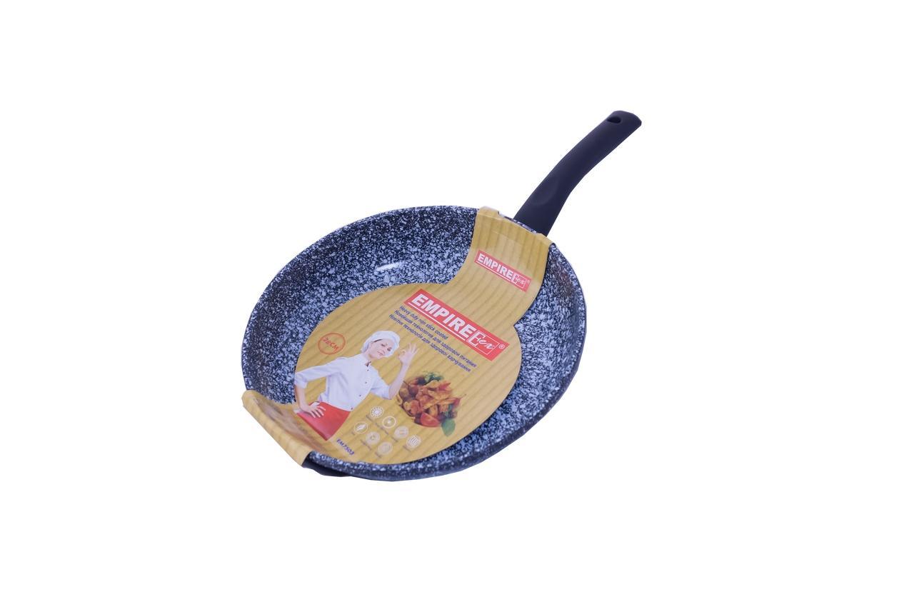 Сковорода антипригарная Empire - 280 мм гранит-грэй 3