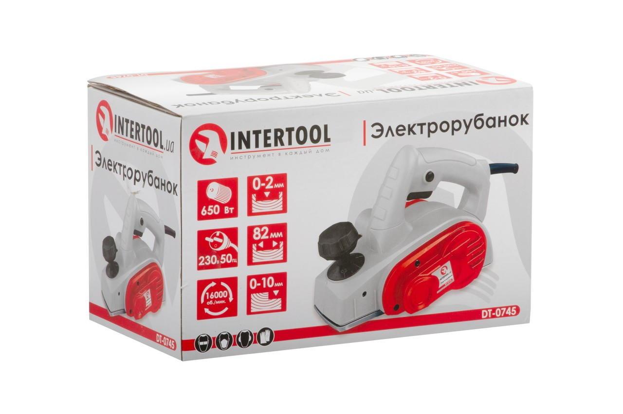 Рубанок Intertool - 450 Вт 6
