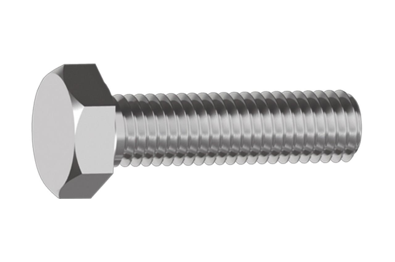 Болт шестигранный Sroub - М6 x 80 мм DIN933 (100 шт.) 1