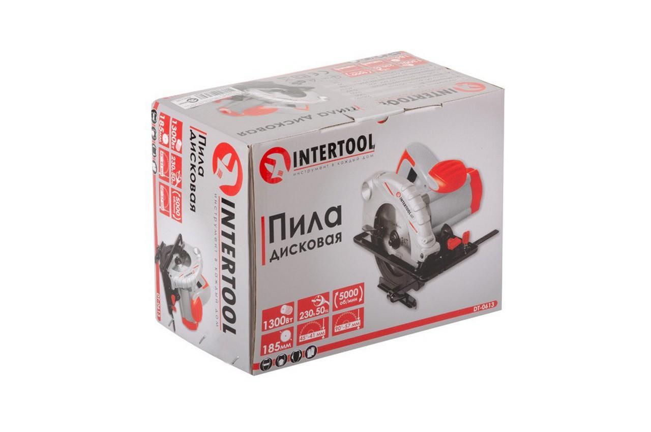Пила циркулярная Intertool - 1300 Вт 4