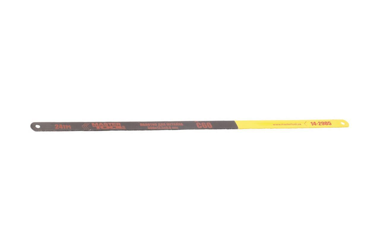 Полотно ножовочное по металлу Mastertool - 300 x 12.5 мм (24T x 1) 1
