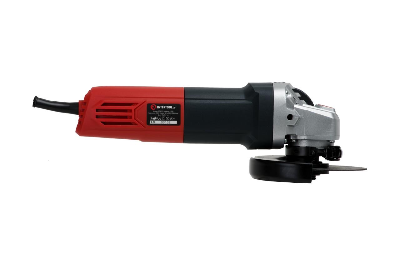 Угловая шлифмашина Intertool - 1100 Вт x 125 мм 4