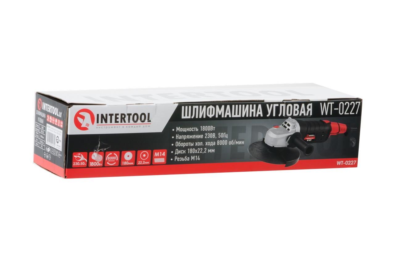 Угловая шлифмашина Intertool - 1800 Вт x 180 мм 5