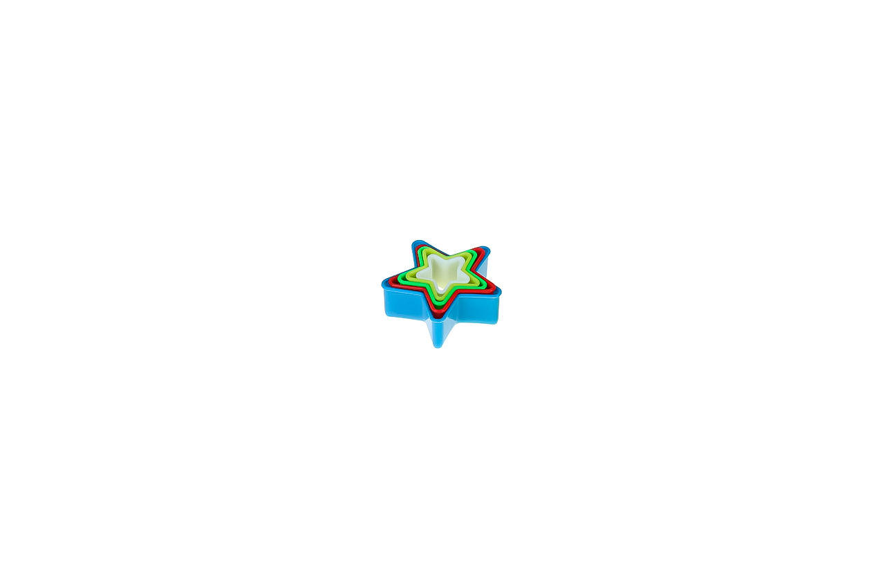 Набор форм для печенья Empire - звезда (5 шт.) 1