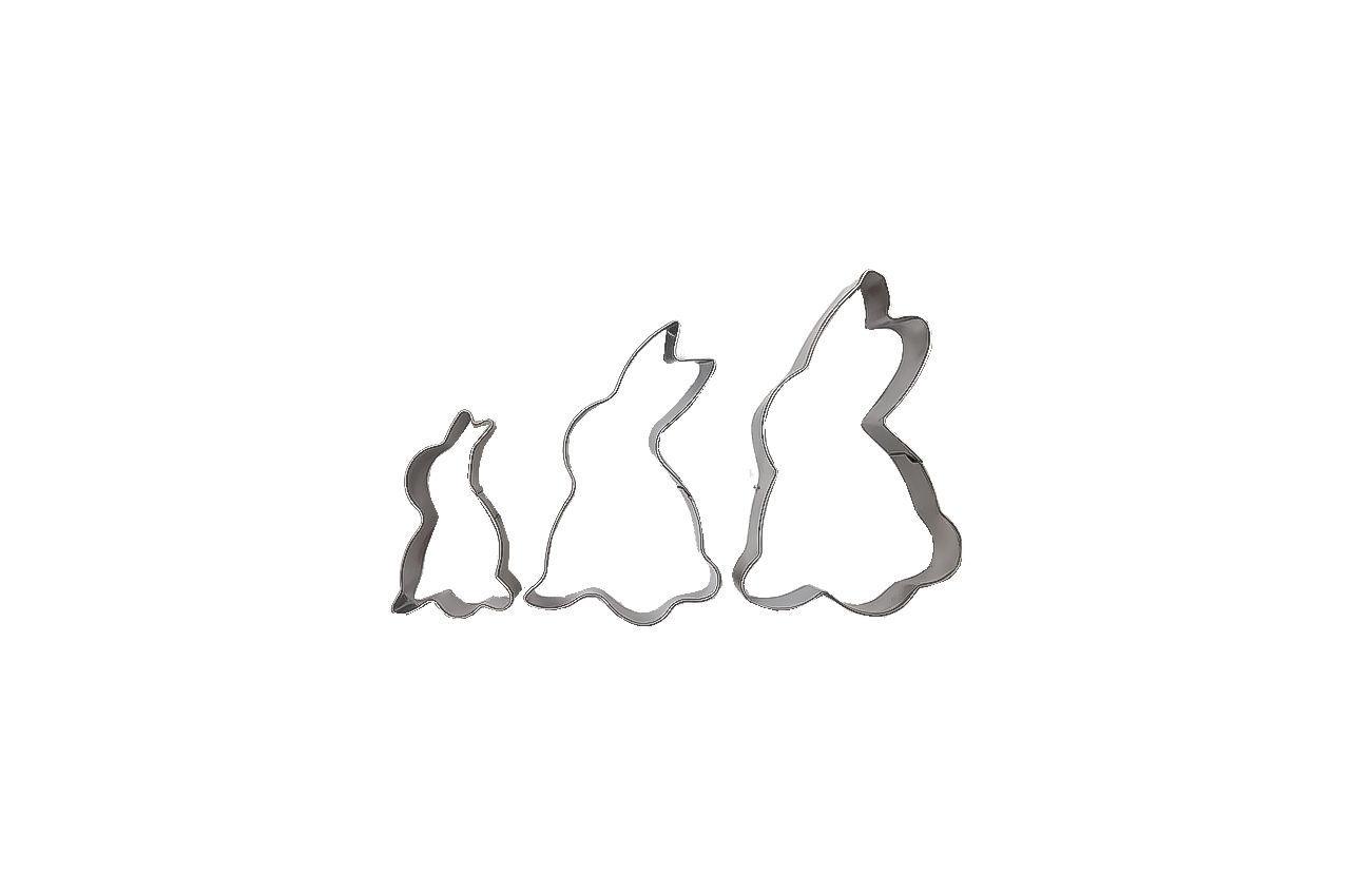 Набор форм для печенья Empire - кролик (3 шт.) 1
