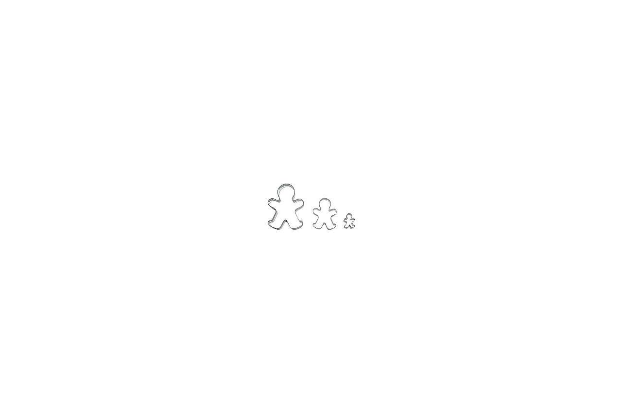 Набор форм для печенья Empire - человек (3 шт.) 1