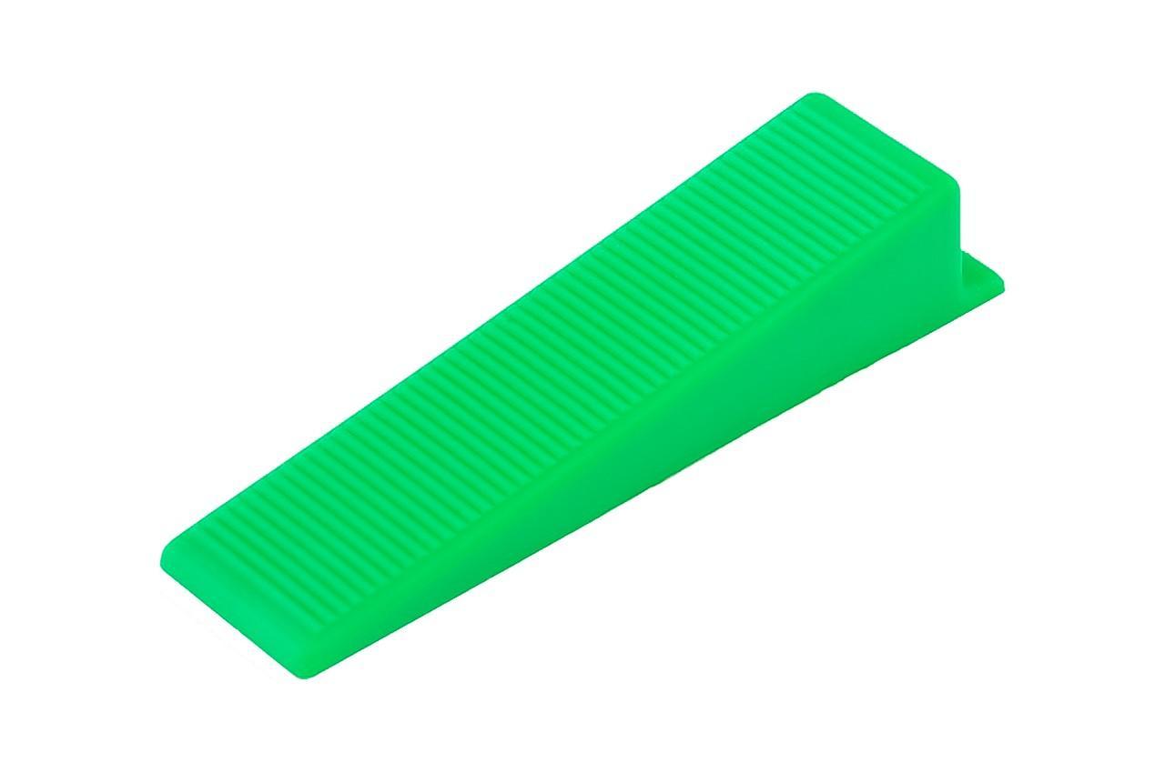 Клин для выравнивания полов Mastertool - 22 x 90 мм (50 шт.) 1