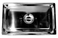 Крышка нержавеющая для гастроемкости Empire - 530 x 325 мм GN1/1