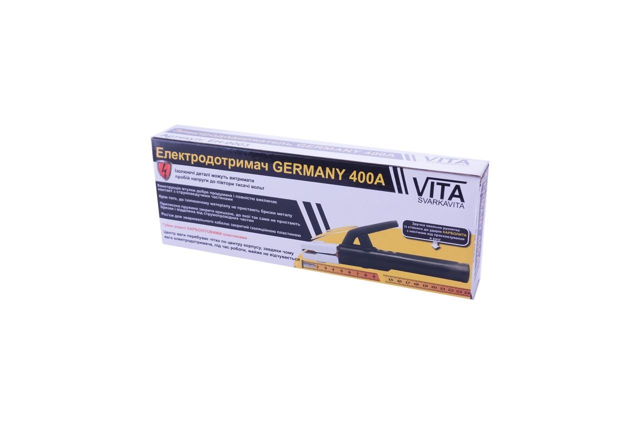 Электрододержатель Vita - 240 мм x 400А Germany 3