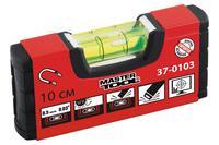 Уровень Mastertool - 100 мм с магнитом