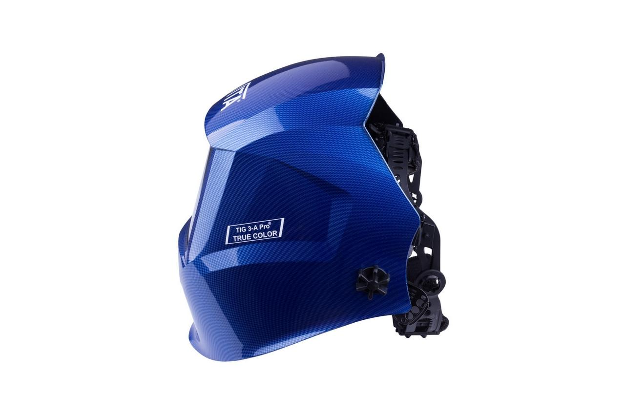 Маска сварочная Vita - TIG 3-A TrueColor Pro, синяя 2
