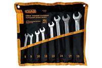 Набор рожково-накидных ключей Сила - 8 шт. (8-19 мм) Pro