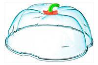 Крышка для микроволновой печи HozPlast - 260 мм гарбуз