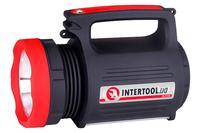 Фонарь аккумуляторный Intertool - 1LED x 5Вт