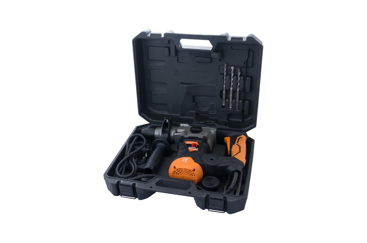 Перфоратор бочковой Intertool - 1500 Вт SemiPROF 4