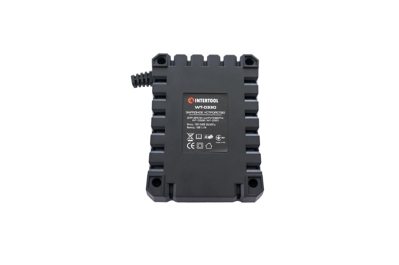 Зарядное устройство для шуруповерта Intertool - 18 В Li-ion к WT-0328/0331 2