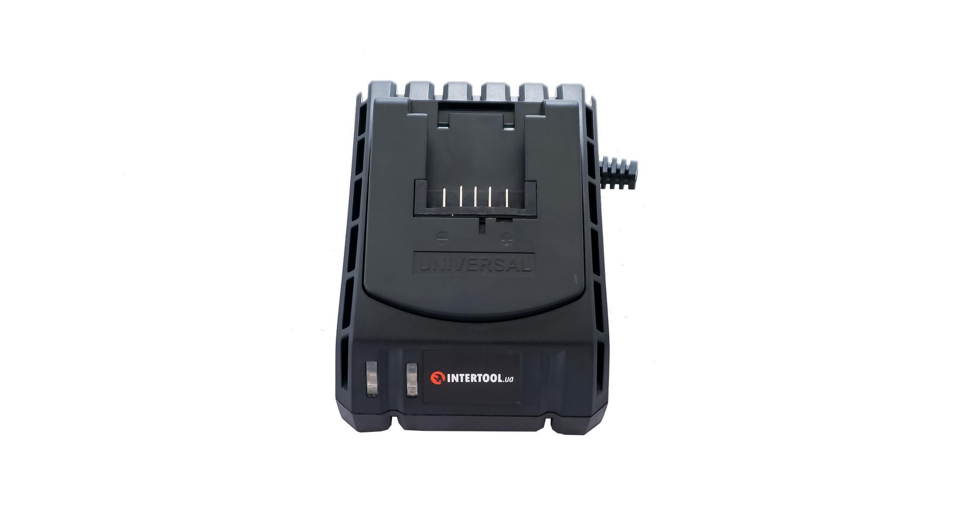 Зарядное устройство для шуруповерта Intertool - 18 В Li-ion к WT-0328/0331 4