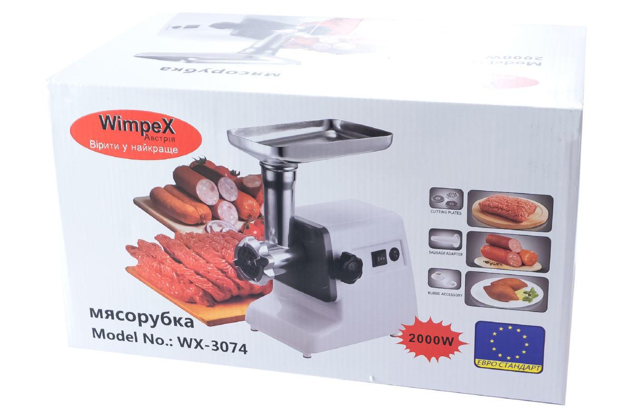 Мясорубка Wimpex - WX-3074 4