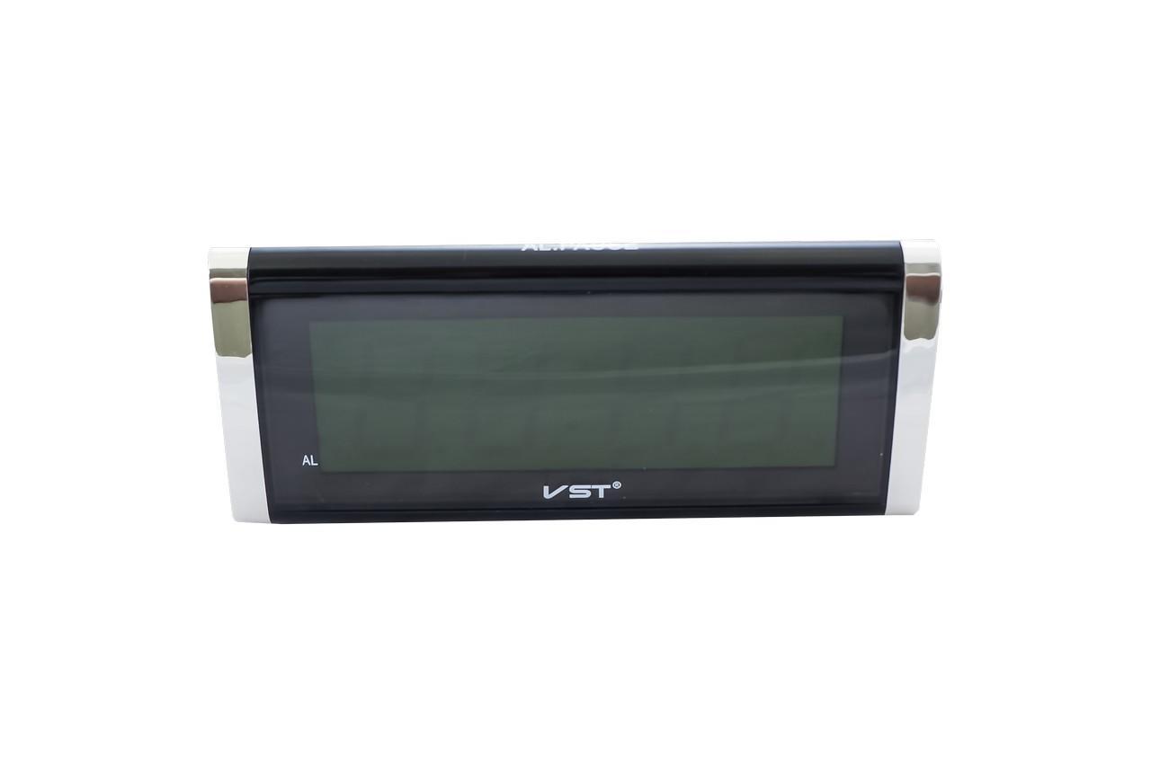 Часы настольные VST - 730, зеленые 2
