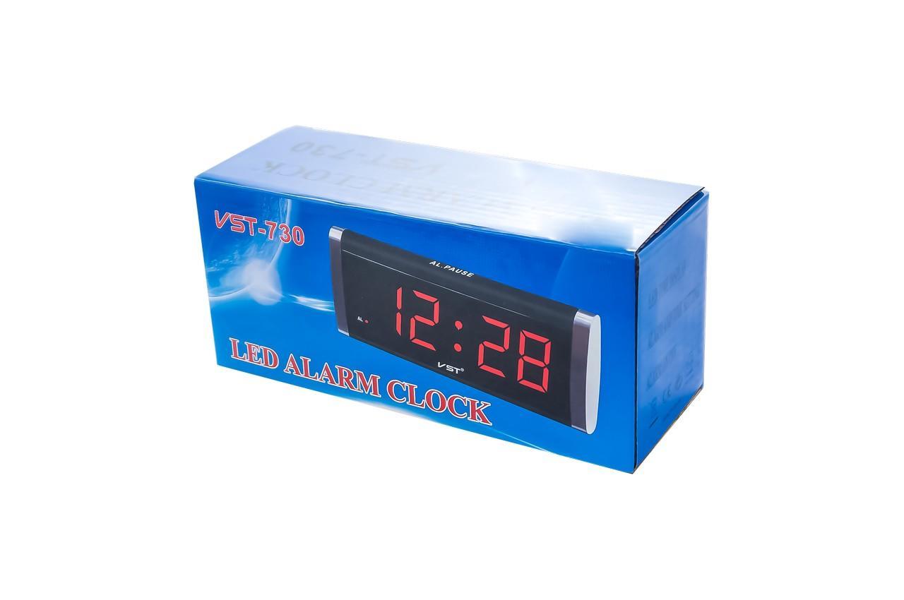 Часы настольные VST - 730, зеленые 4