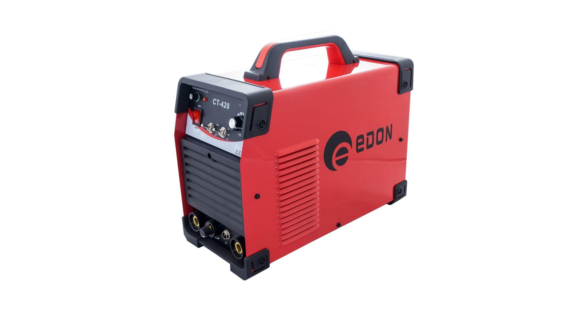 Сварочный инвертор 3-в-1 Edon - CT-420 7