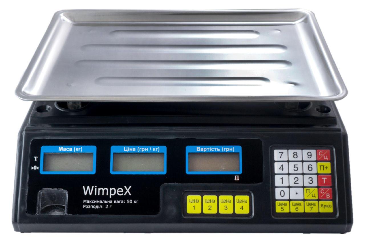 Весы торговые Wimpex - WX-4V 1