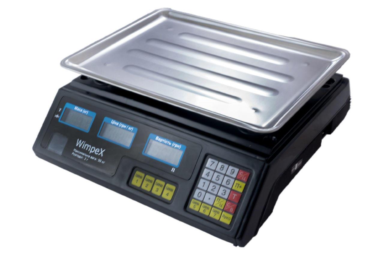 Весы торговые Wimpex - WX-4V 4