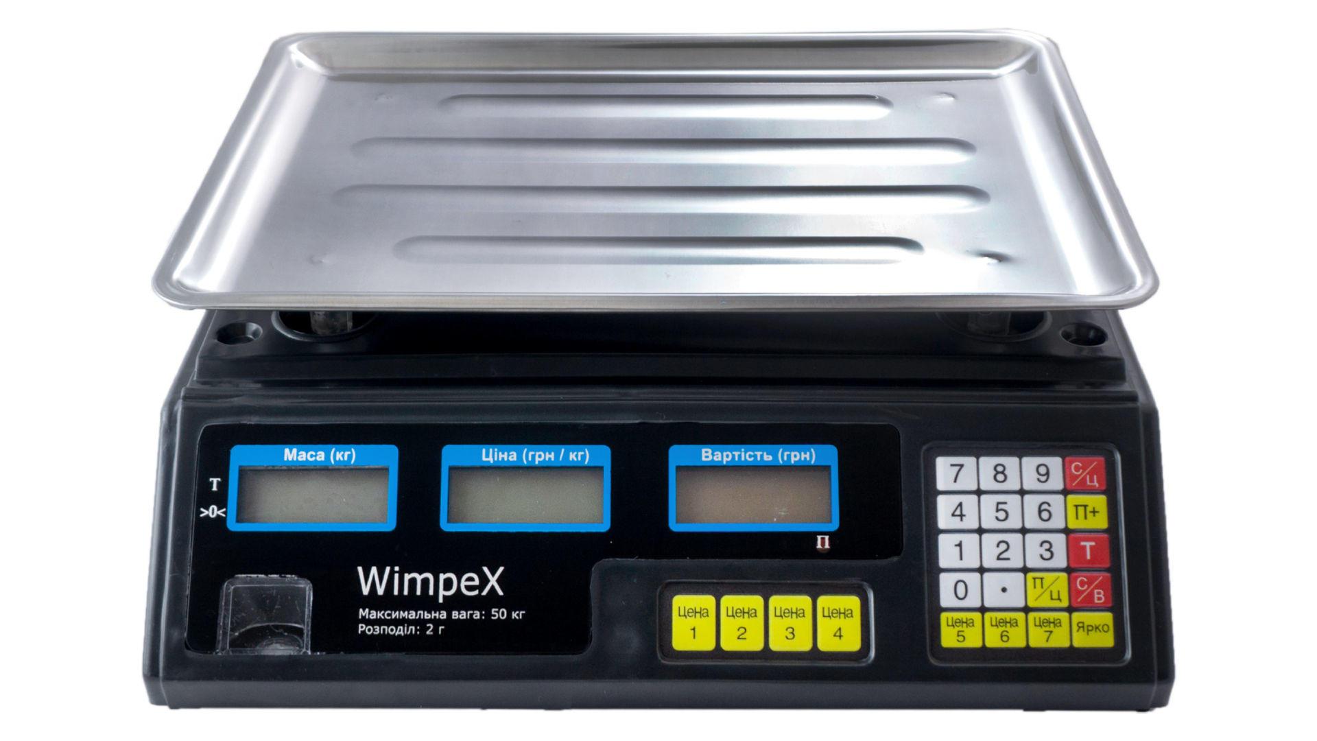 Весы торговые Wimpex - WX-4V 6