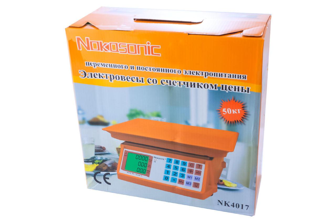 Весы торговые Nokasonic - NK-4017 5