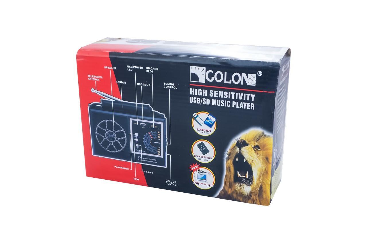 Радиоприемник Golon - RX-002 UAR 3