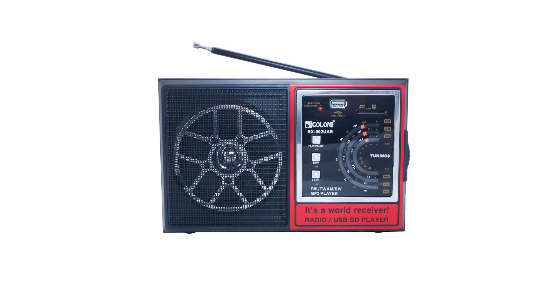 Радиоприемник Golon - RX-002 UAR 4