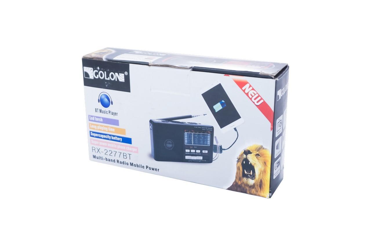 Радиоприемник Golon - RX-2277BT 4