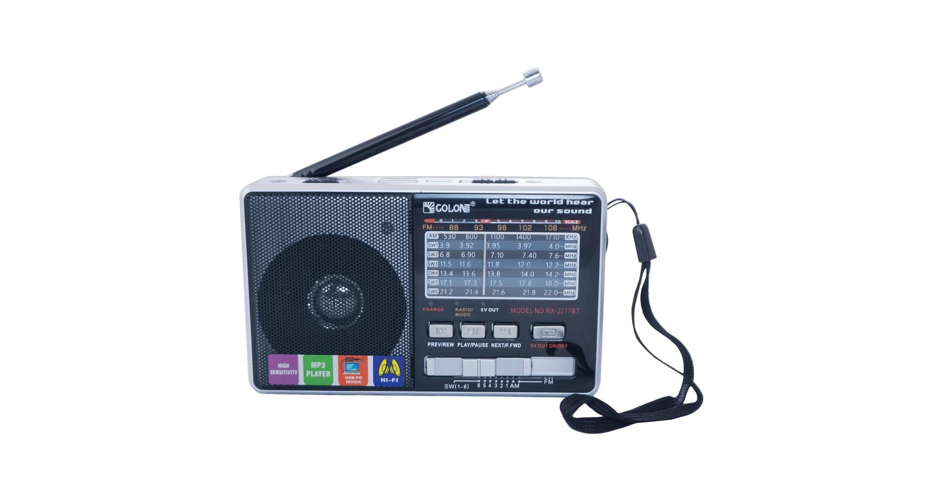 Радиоприемник Golon - RX-2277BT 5