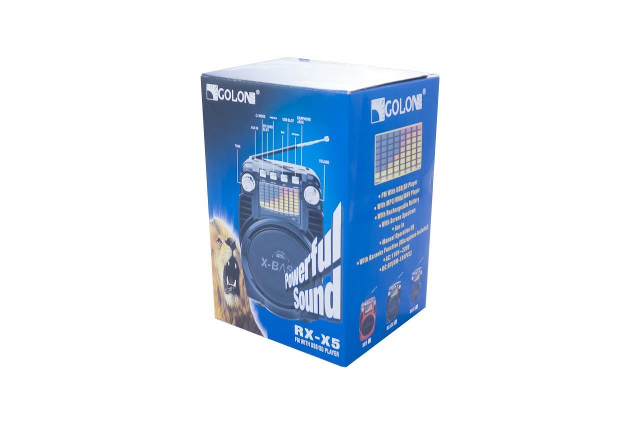 Радиоприемник Golon - RX-X5 4