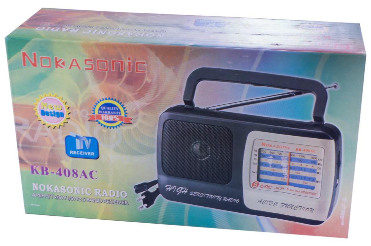 Радиоприемник Kipo - KB-408AC 5