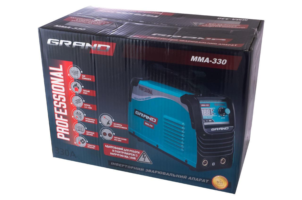 Сварочный инвертор Grand - MMA-330 Pro 6