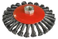 Щетка конусная Miol - 115 мм плетеная