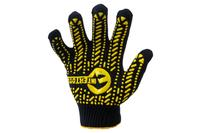 Перчатки Intertool - 60/40 с точкой 90 г черные 10 SP-0128