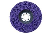 Вспененный абразив синтетический на УШМ Pilim - 125 x 10 мм фиолетовый